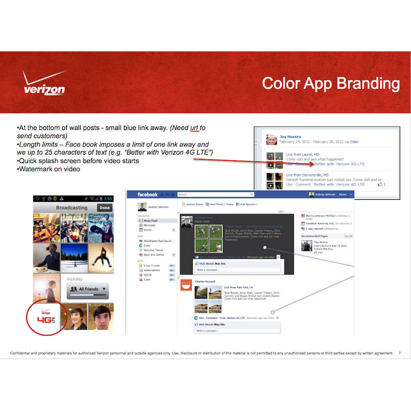 Color App Branding 2012