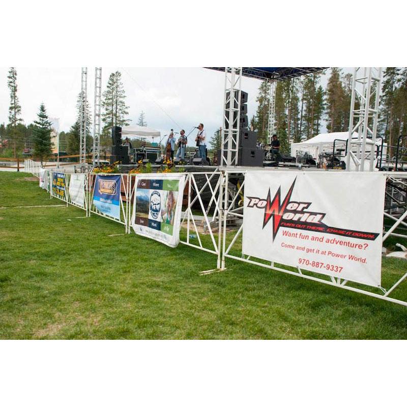Power World Beer Festival Stage Banner 2014