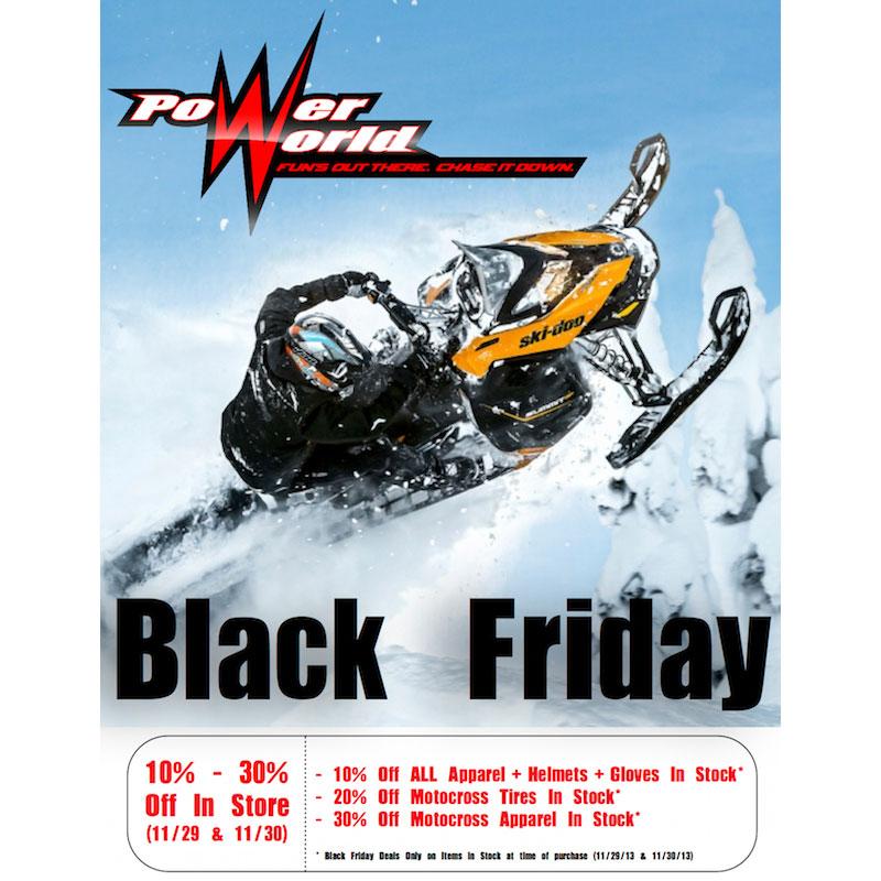 Power World Black Friday Flyer 2013