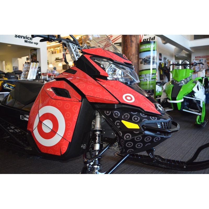 Target Sponsored Snowmobile
